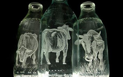 Milk Bottle Art (9) 1