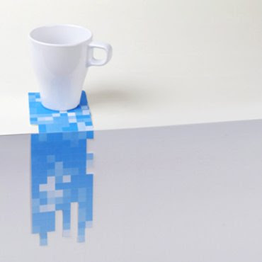 Pixel Drink Coasters (5) 2