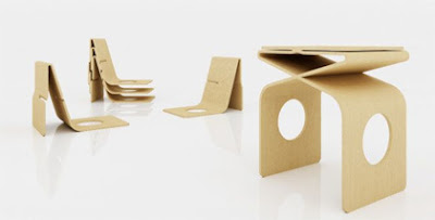 Creative Cardboard Furniture Designs (20) 2