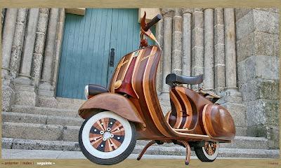 Wooden Vespa (5) 3