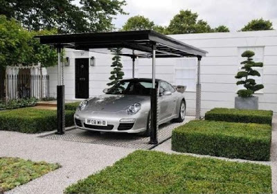 Incredible Hidden Car Garage Designs (30) 5