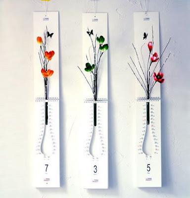 Calendar & Flowerpot