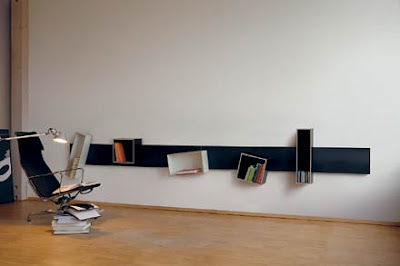 Magnetic Bookshelf