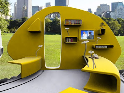 252&#176; Living Area: Mobile Mini House (6) 5