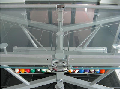 Pool Table Made Of Glass (6) 5