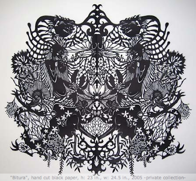 Paper Cutting, Folding, Sculptures, Illustrations And Origami (18) 15