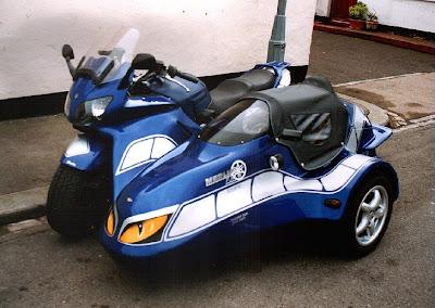 Yamaha FJR1300 Merlin Super Sport Sidecar