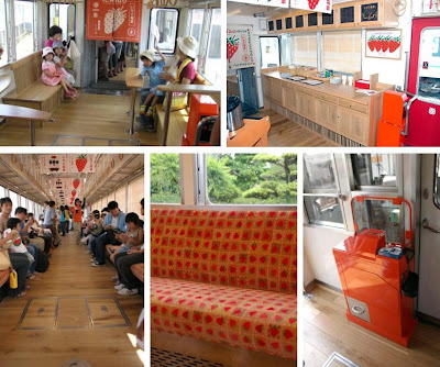Pleasant Train Interior In Japan (7) 2