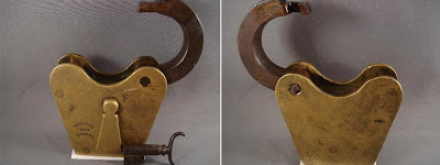 Vintage Brass Lock