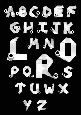 Toilet Paper Alphabet