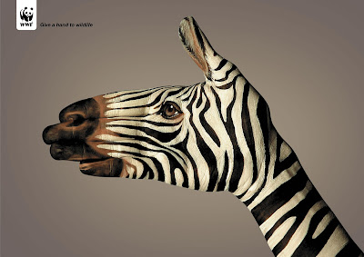 15 Creative and Cool Uses of Painted Hand In Advertisements  (15) 7