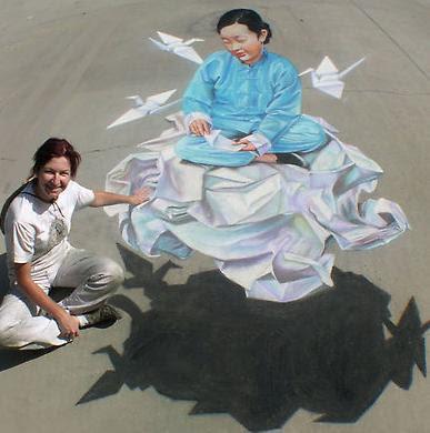 3D Anamorphic Street Paintings (5) 3