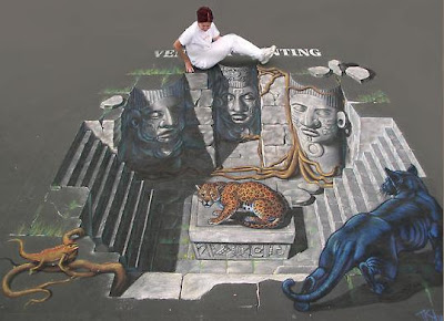 3D Anamorphic Street Paintings (5) 2