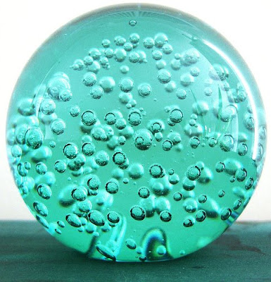 Blue World Paper Weights