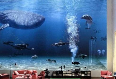 Cool Aquariums and Unusual Fish Tanks Designs (50) 38