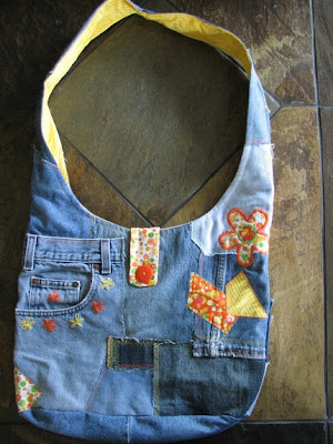 Creative and Cool Ways To Reuse Old Denim Jeans (36) 2