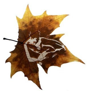 Beautiful Leaf Art (21) 13