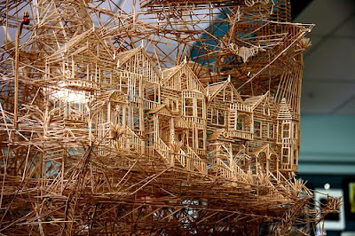 Toothpick Sculptures (21) 12
