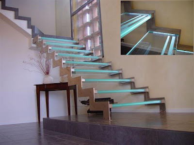 20 Creative and Modern Staircase Lighting Designs (20) 3