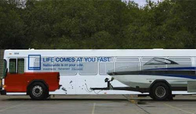 Creative and Clever Bus Advertisements - Part: 3 (18) 5