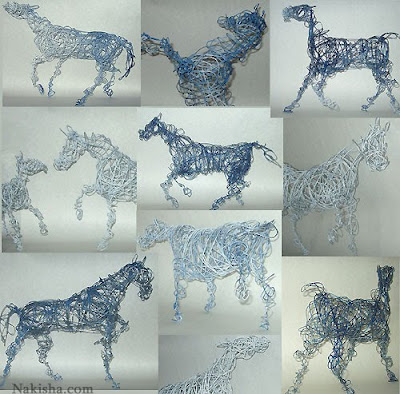 Wire Sculptures From Around The World (36) 4