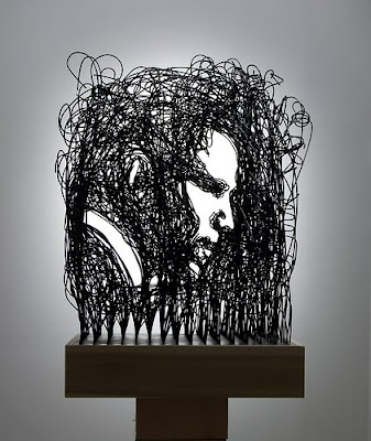 Wire Sculptures From Around The World (36) 16