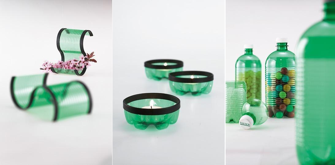 Coloured Glass Storage Jars