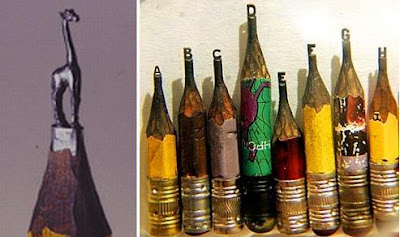 Pencil Tip Sculptures (8) 3