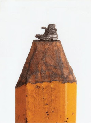Pencil Tip Sculptures (8) 5