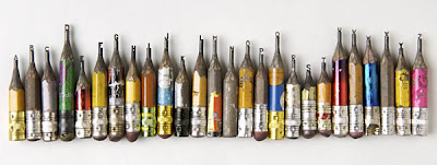 Pencil Tip Sculptures (8) 1
