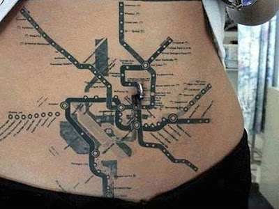 21 Creative and Cool Subway Map Inspired Designs (21) 21