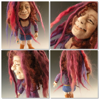 Cool and Creative  Felt Wool Sculptures (14) 7