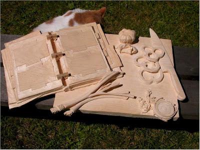 Creative One Block of Wood Sculptures (21) 19