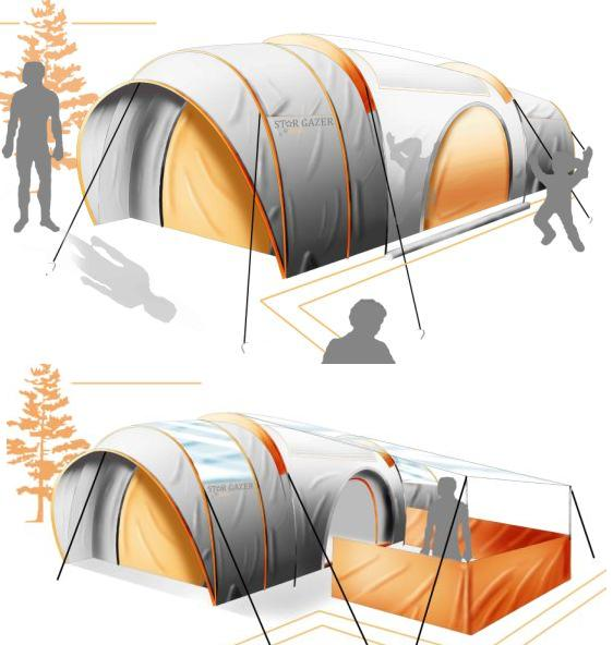 Cool Travel Gadgets and Useful Travel Product Designs (15) 16  sc 1 st  Crookedbrains : design a tent - memphite.com