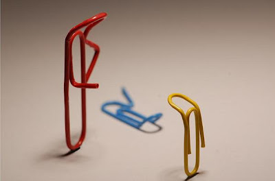 Paper Clip Inspired Products, Artwork and Designs (33) 33