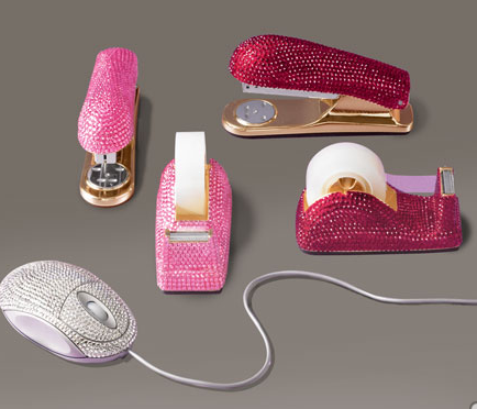 Crookedbrains 30 creative and cool tape dispenser designs - Girly office desk accessories ...