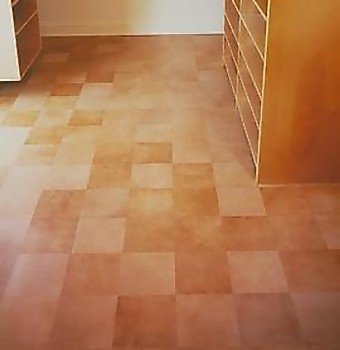 9 creative and cool flooring designs likepage for Leather flooring