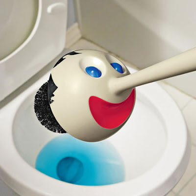 18 Creative and Cool Toilet Brushes and Holders (18) 1