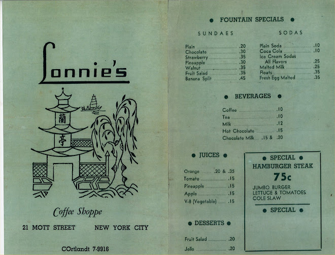 The Original Menu