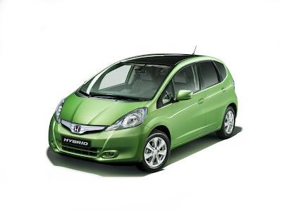 New Honda Jazz Hybrid. The new 2011 Honda Jazz Hybrid