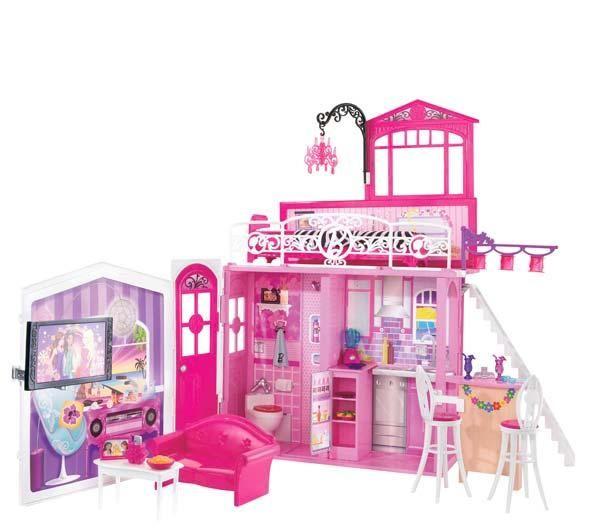 Blog da bia dolls casa da barbie - Maison de reve barbie ...
