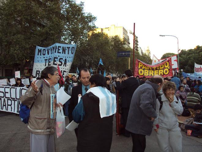 CONIS DIJO PRESENTE EN LA MARCHA POR LA CRIMINALIZACIÓN DE LA PROTESTA