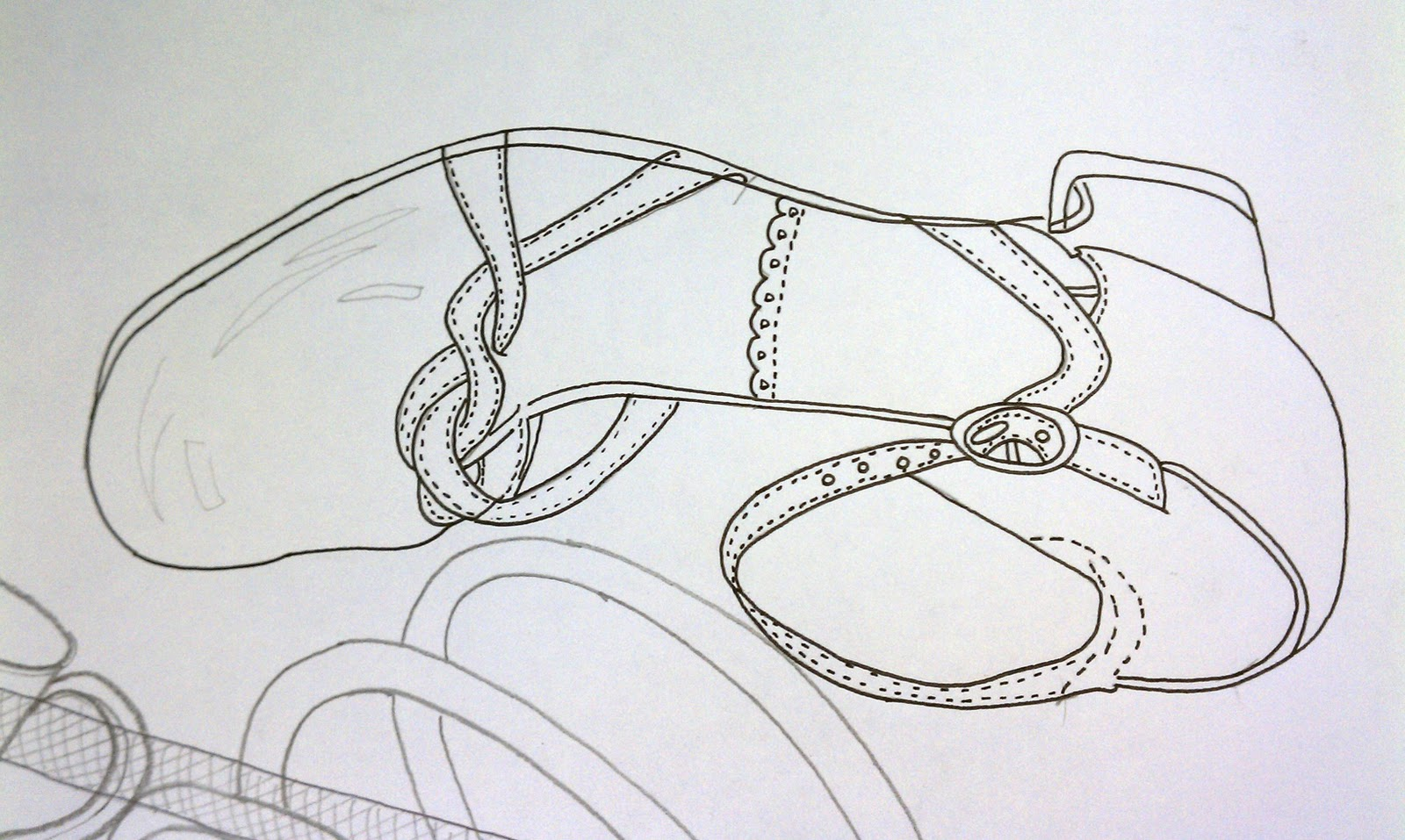 Contour Line Drawing Objects : Didaz contour drawing