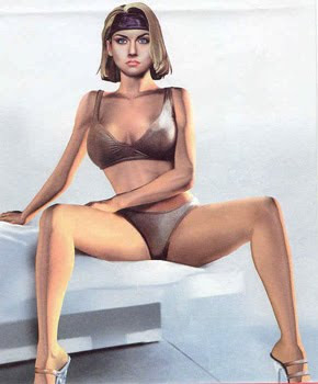 free nude picture of girl of star trek
