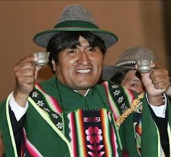 Evo Morales (n. 1959) / Bolivia