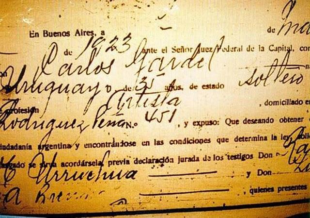 GARDEL URUGUAYO