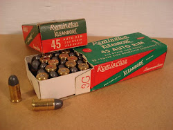 Early .45 Auto Rim Ammunition
