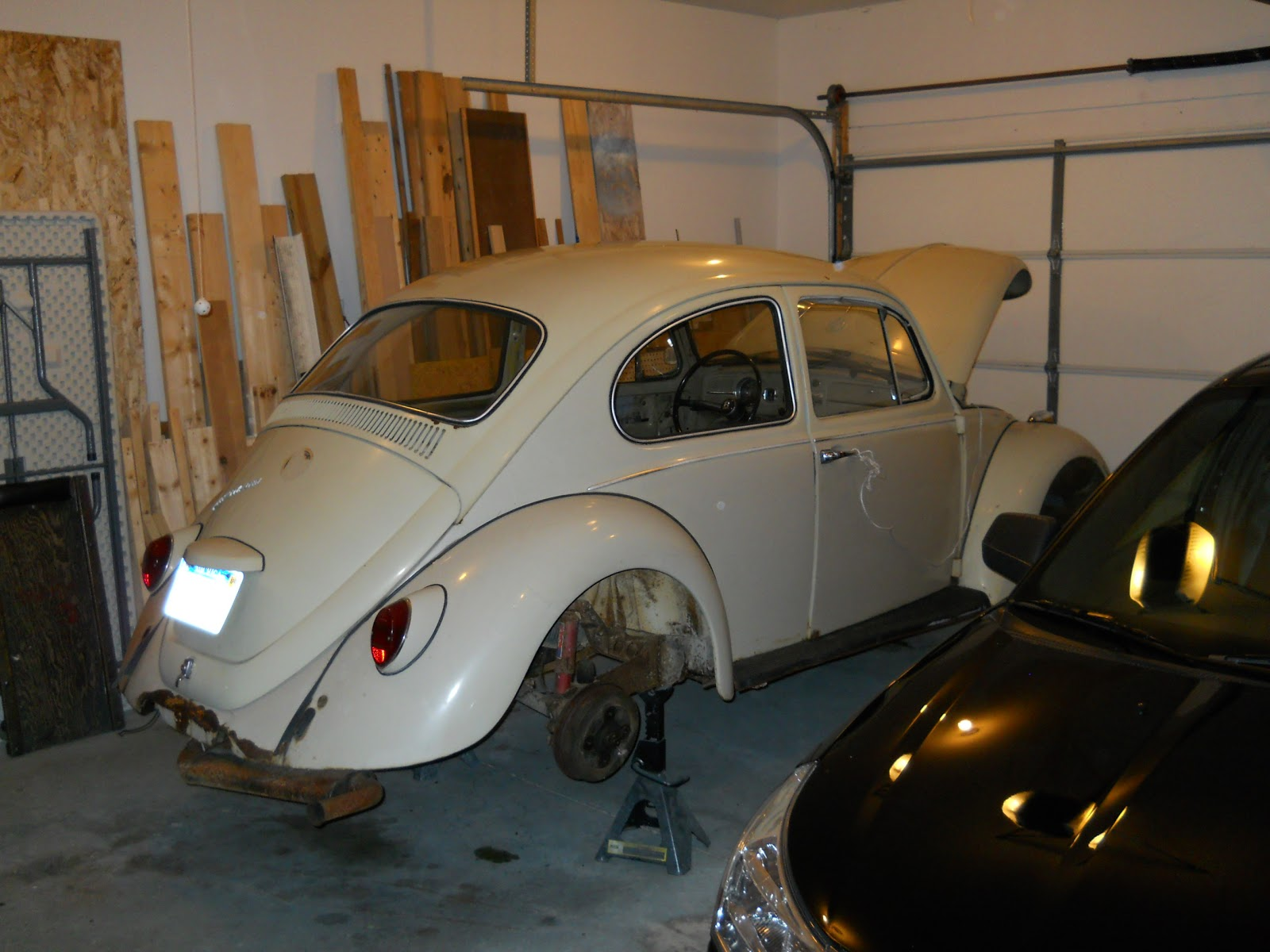 vw new beetle front bumper removal