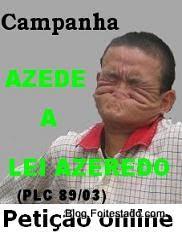 Petição online, contra PLC que criminalizou o uso de internet