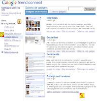 widget google avaliar pontuar seu artigo, google friend connect